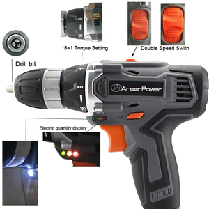 Image 3 - 25V Cordless Screwdriver Electric Drill Tool Mini  Battery Tools Drill Power Machine Electric For Cordless Drills Set Bit Tool