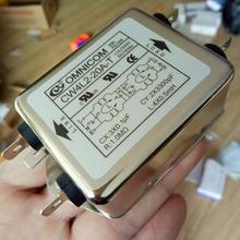 20A EMI сетевой фильтр однофазный 220 В однофазный однополюсный 220 в EMI 20A разъем