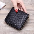 Promotion Brand New Fashion Alligator Crocodile Women Short Purse bolsa feminina Wallets Large Capacity Small Lady Bags Mini
