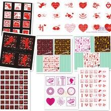 20 лист бумага для переноса шоколада/форма для выпечки лист/украшение торта/окружающий край цветок/алфавит итальянской кухни