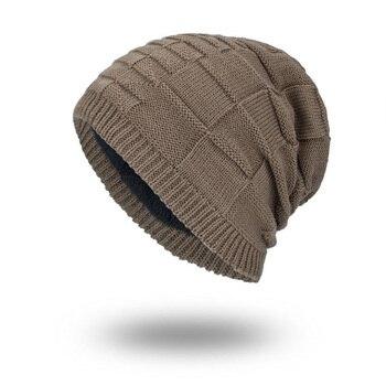 Nuevos hombres del Invierno del sombrero de lana esquí Gorros gorras . e2656f0bf840