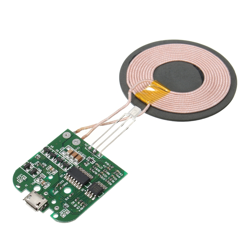 Qi Wireless Charger Pcba Circuit Board With Coil Charging For Cell