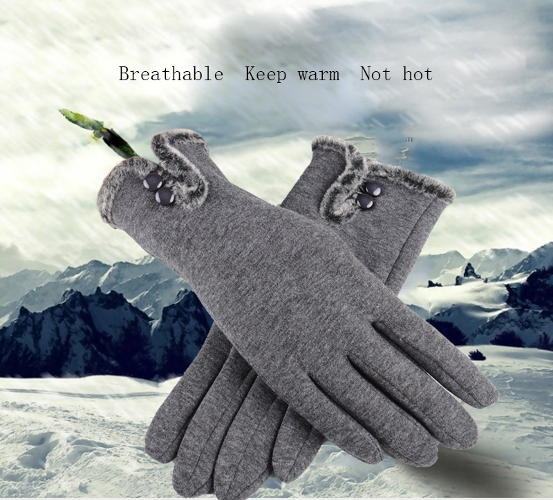 Comfortable and Warm Non Inverted Touch Screen Gloves for Women with Sensitive Touch Screen Function without Hand Exposing to Cold 8