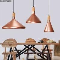 Vintage Industrial Lighting Copper Black Color Lamp Holder Pendant Light American Aisle Lights Retro Lamp Coffee