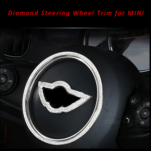 Image 1 - تصفيف السيارة الماس عجلة القيادة الجناح شعار شارة شارة لميني كوبر ون كونتري مان R54 F55 F56 F60 R55 R56 R60 R60 R61
