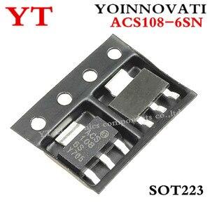 Frete grátis 50 pcs/loy ACS108-6SN-TR ACS108-6SN ACS108 TRIAC SENS PORTÃO 600V 0.8A SOT223 IC melhor qualidade