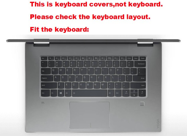 High Clear Transparent Tpu Keyboard Cover protectors skin guard For Lenovo Yoga 720 15.6//ideapad 120S-14//320-14//320S-14//330S 14//V330-14//miix 520//FLEX 5-15