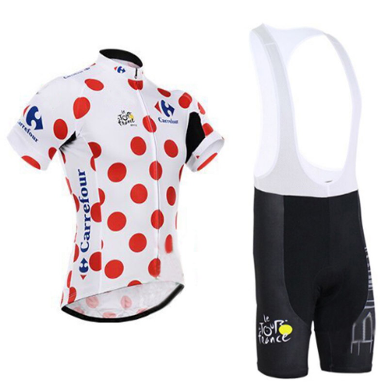 Tour de France Cycling Jersey Summer Team Short Sleeves Cycling Set Bike  Clothing Ropa Ciclismo Cycling Clothing Sports Suit-in Cycling Sets from  Sports ... 0e655bbc8