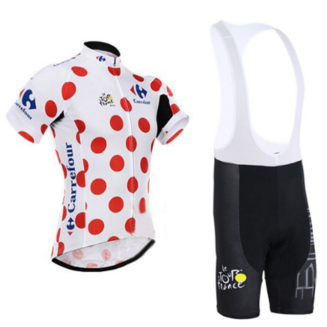 Tour de France Cycling Jersey Summer Team Short Sleeves Cycling Set Bike  Clothing Ropa Ciclismo Cycling Clothing Sports Suit 4ab4eddaa