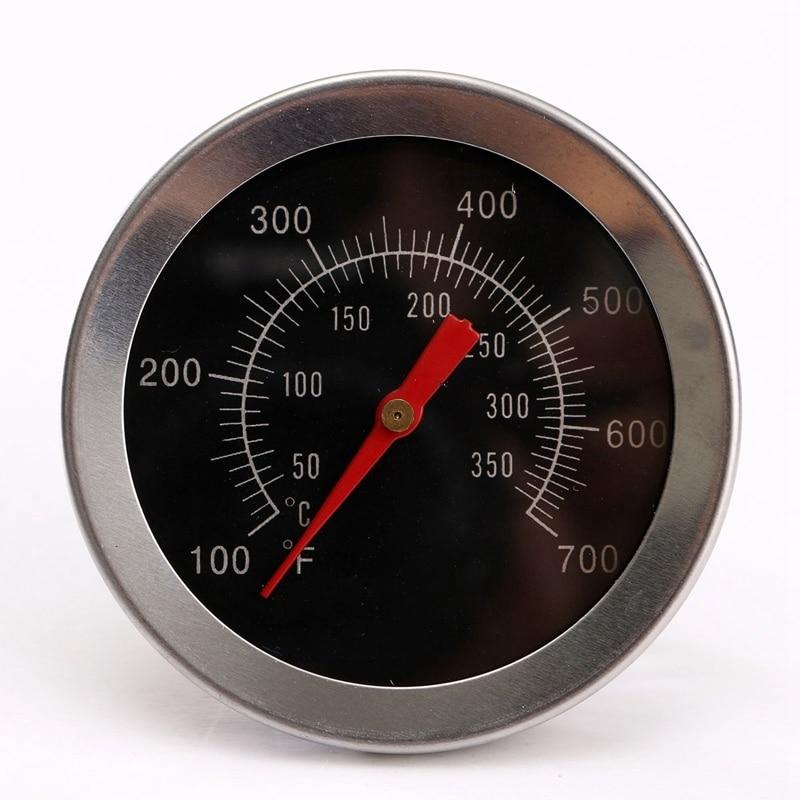 Roostevabast terasest grilltarvikud Grill Liha Termomeeter Dial - Mõõtevahendid - Foto 2