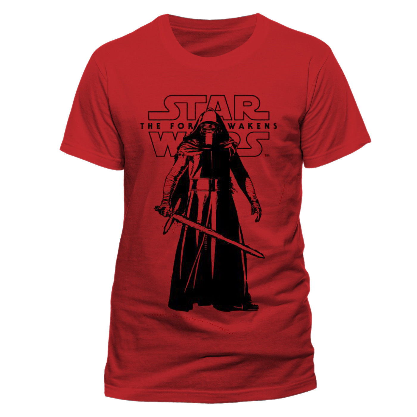 Star Wars VII 39 Kylo Ren Standing 39 T Shirt NEW amp Free shipping Print T Shirt Mens Short Sleeve Hot in T Shirts from Men 39 s Clothing