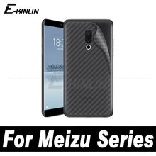 Soft 3D Carbon Fiber Back Cover Protective Film For MeiZu X8 M6 16S 16 16th M8 Lite M8c 15 Plus Screen Protector No Glass