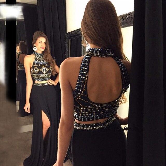Fotos de vestidos de gala preto