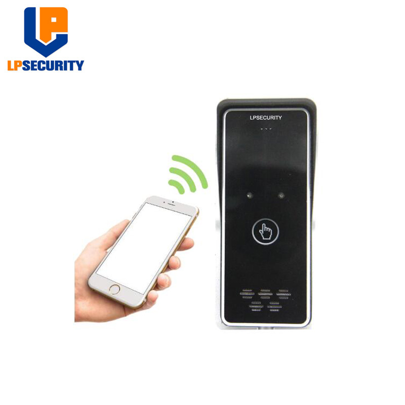 LPSECURITY 3G 4G GSM Access Control Apartment Intercom Security System One Key To Dial Door Control Remotely By Free Call K6S