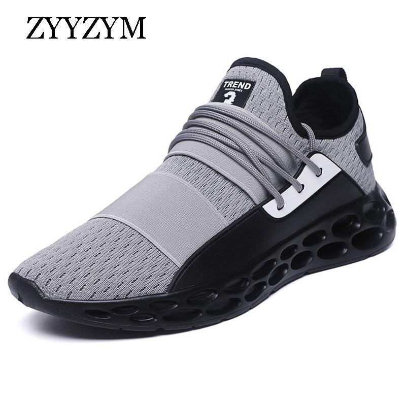 ZYYZYM Men Casual Shoes Breathable Men Shoes Light Outdoor Shoes Sneakers Man Tenis Masculino Shoes Zapatos Hombre Sapatos мужские кроссовки men sneakers 2015 zapatillas zapatos hombre sapatos go5