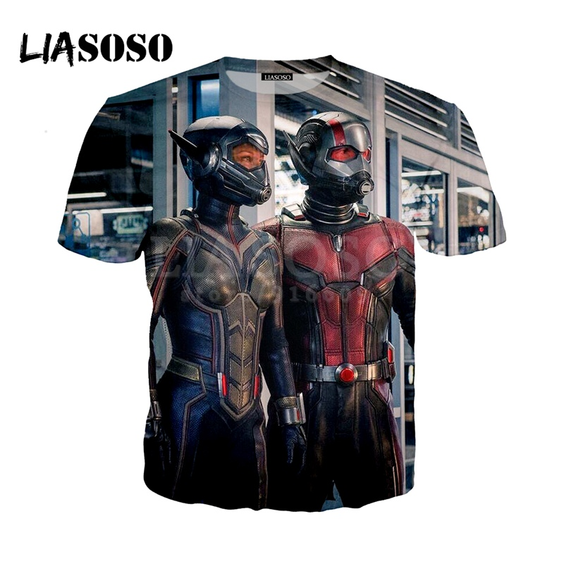 LIASOSO NEW Popular Infinity War Superhero Ant Man and The