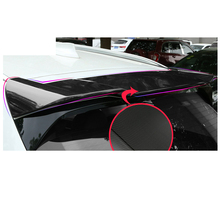 Lsrtw2017 Abs Car Roof Punch Free Tail Wing Trim Strip for Bmw X3 2018 2019 2020