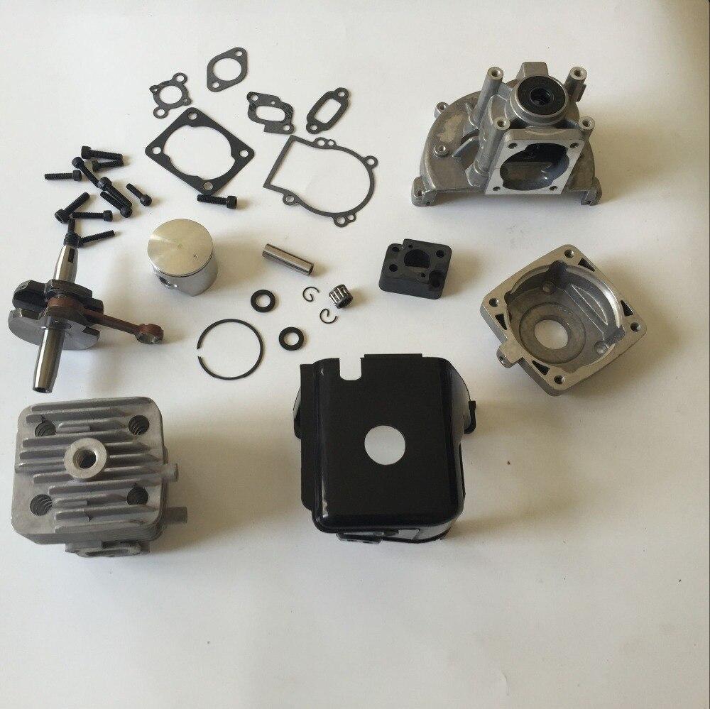 KIT de mise à niveau grand alésage 32CC 38 MM pour moteur 32cc haut régime amélioré sur le moteur Zenoah 26cc 29cc 30.5cc