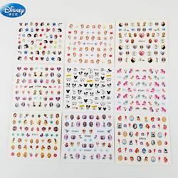 Мультфильм Микки и Минни Маус ногтей Стикеры игрушка disney изображением Эльзы из мультфильма «Холодное сердце» принцессы для девочек