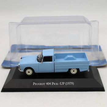 IXO Altaya 1:43 Peugeot 404 1979 Pick UP Blue Diecast Models Limited Edition Collection