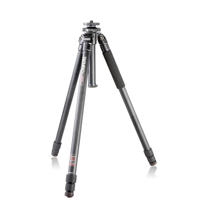 BENRO A4570T Aluminum Tripod Leg Universal Support Tripods For Canon Nikon Sony Mini Camera 4 Section Max loading 25kg in Tripods from Consumer Electronics