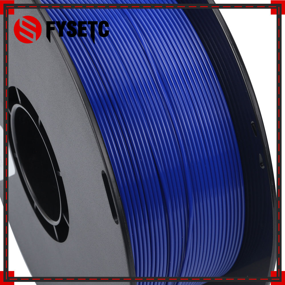Printing Materials 1.75mm 1kg/2.2lbs PETG Filament Blue Color 1.75 PETG Filament VS ABS/PLA Top Quality For 3D Printer/3D Pen abs filament 1 75 in yellow color 1kg