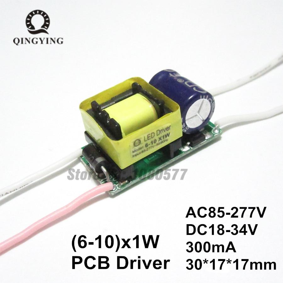12V ac//dc led driver 1-3 3W chip aquarium batterie voiture diy courant constant 600mA
