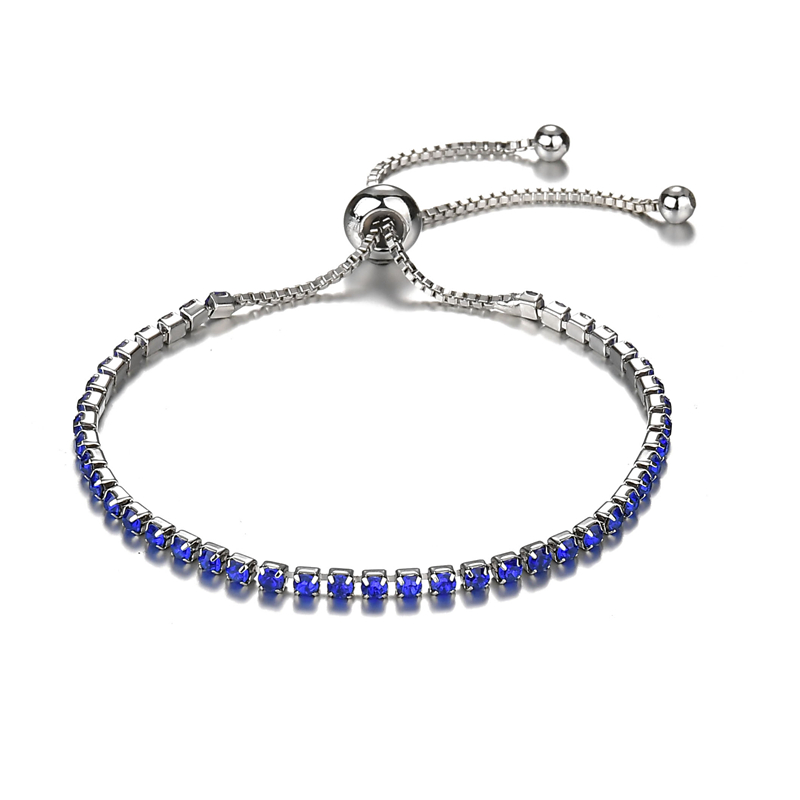 Simple Fashion Bangle & Bracelet for Women Adjustable Rhinestone Bracelets Fashion Party Jewelry Accessories