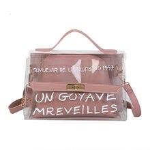 89448f47157f4 Nouveau été transparent PVC sac dames sac à main plage sac à main fille  embrayage gelée crossbody sacs pour femmes 2019 sac .
