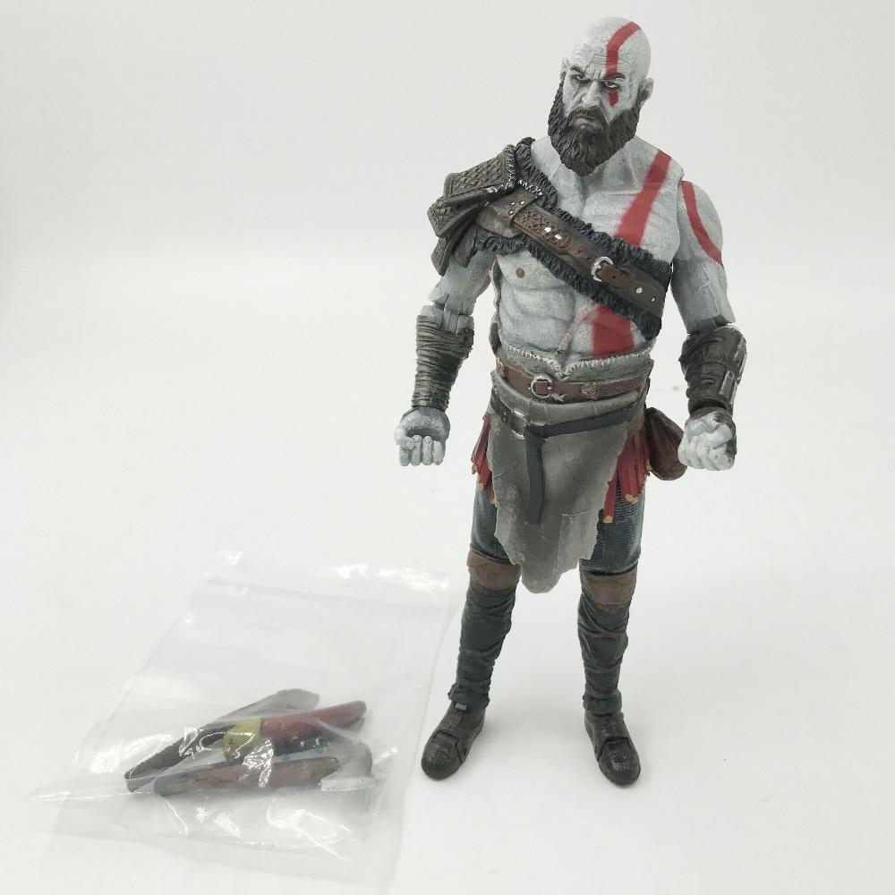 Tobyfancy NECA Game God Of War Kratos կացինով PVC - Խաղային արձանիկներ - Լուսանկար 4
