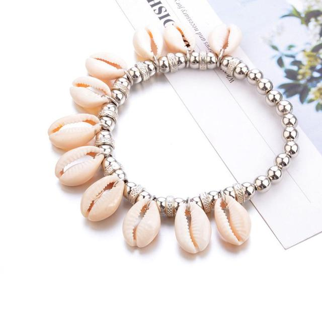 Women's Cowrie Shell Anklet 6