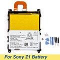 Original New LIS1525ERPC For SONY Xperia Z1 L39H C6903 L39T L39U C6902 3000mAh L39H 3.8V Li-Ion Battery Batterie +Tools&Tracking
