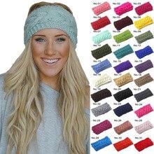 28 colori di Inverno Caldo di Lavoro A Maglia Fasce per Le Donne Della  Signora di 42604cca6b77