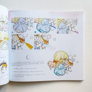Image 4 - Livro de desenho do gato de dada arte e design livro de colorir para adultos/crianças coração de menina doce como desenhar manga kawaii para iniciantes