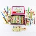 Crianças De Madeira Números Contando Matemática Aprendizagem Precoce Educacional Toy Kids Crianças Matemática Brinquedos Frete Grátis