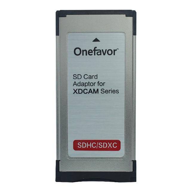 Adaptateur SXS de lecteur de carte Express onefavor SD/SDHC/SDXC à 34 MM pour sony EX280 EX350