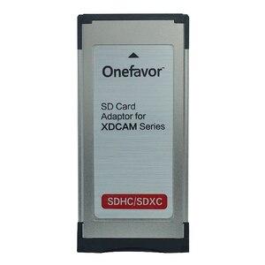 """Image 1 - Onefavor SD/SDHC/SDXC עד 34 מ""""מ Express Card קורא מתאם עבור sony EX280 EX350 SXS"""