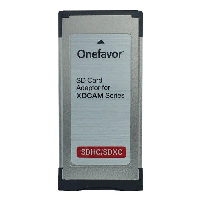 Onefavor SD/SDHC/SDXC 34 MM Express Card reader SXS adapter für sony EX280 EX350