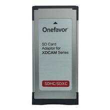 Onefavor SD/SDHC/SDXC per 34 MM Express Card reader SXS adattatore per sony EX280 EX350