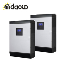 цена на FREE SHIPPING parallel operation OFF GRID solar inverter 10kva DC48V 220V/MPPT CONTROLLER/AC CHARGER/PC REMOTE CONTROL/ CABLE