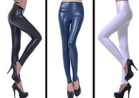 2016 Autumn Winter Women Legging Skinny PU Leather Pencil Leggings Slim Faux Leather Pants Female Fashion
