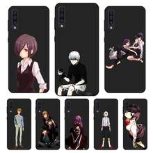 N443 Tokyo Ghoul Black Silicone Case For Samsung Galaxy A2 Core A6 A7 A8 A9 A10 A30 A40 A50 A60 A70 A8S A9S A20E Plus(China)