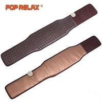 POP RELAX Germanium Tourmaline Waist Belt Jade Stone Far Infrared Thermal Physical Therapy Massager Health Electric Massage Bel
