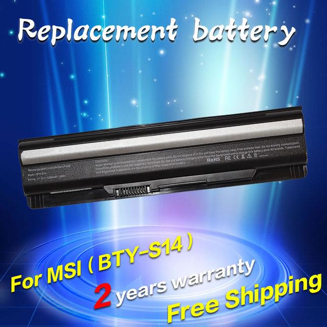 Bateria do portátil para msi bty-s14 bty-s15 cr650 cx650 fr400 jigu FR610 FR620 FR600 FR700 FX60 FX400 FX420 FX603 FX610 FX620 FX620DX