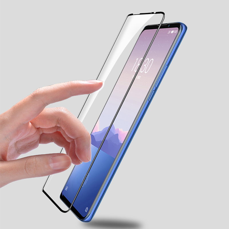 Image 4 - 3D Full Glue High aluminum Tempered Glass For Meizu 16XS Full Cover 9H Protective film Screen Protector For Meizu 16XS-in Phone Screen Protectors from Cellphones & Telecommunications