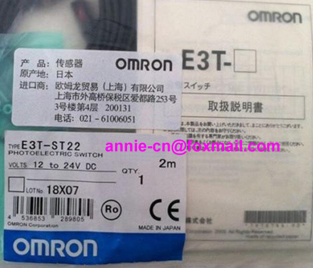 New and original  E3T-ST22  OMRON  Photoelectric switch  Photoelectric sensor  2M  12-24VDC  цены