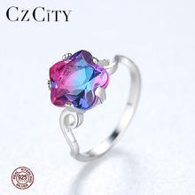 Czcity новый высокого качества чистого стерлингового серебра