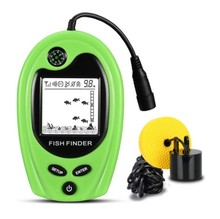 Fish finders lucky brand wired FF818 depth sonar sensor fishfinder 328feet(100m) deeper fishing winter fishing/ice fishing