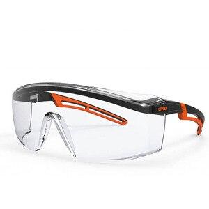 Image 1 - UVEX מגן משקפיים בטיחות משקפי מגן שקוף נגד ערפל נגד השפעה Eyewear עבודת רכיבה נגד חול משקפי עין הגנה