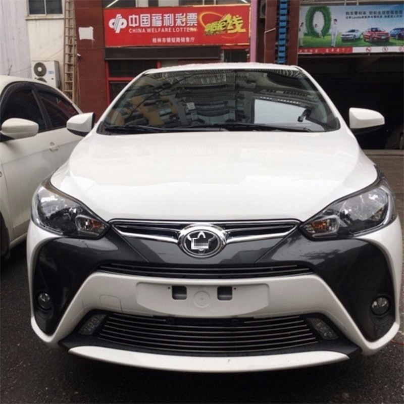 automobile car covers accessories chromium styling 2017 dazzle bright net enjoy modification machine trim FOR Toyota Yaris automobile car styling accessories chromium 2014 17 modified bumper grille trim strip grid decorative bright for toyota vios